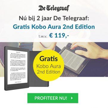 telegraaf-abonnement-2-jaar-kobo-ereader